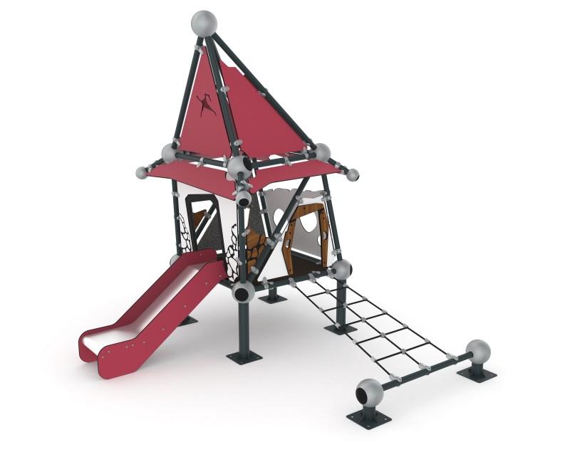 Play Park - Zjeżdżalnie, ślizgawki Domek Czarownicy 2