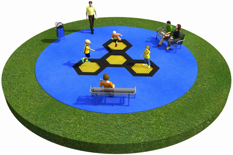 Trampolines  Layout 21 Place zabaw