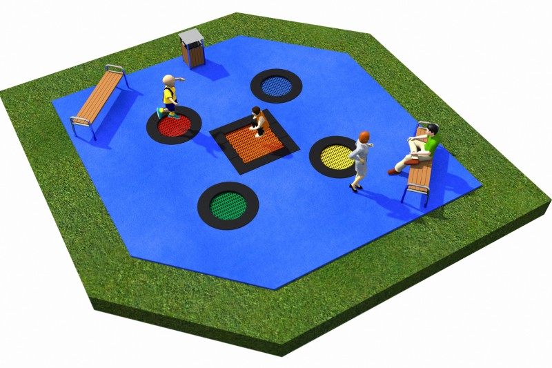 Trampolines  Layout 11 Place zabaw