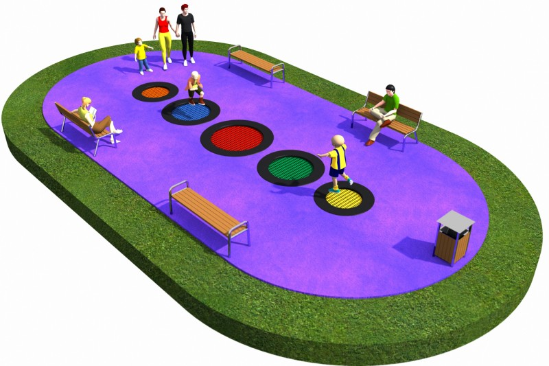 Trampolines  Layout 19 Place zabaw
