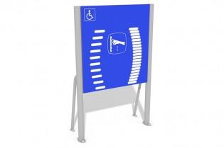 Tablica z drabinkami - wersja dla osób na wózkach