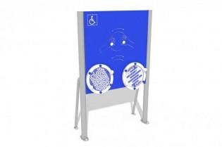 PLAY-PARK - Tablica z labiryntami - wersja dla osób na wózkach