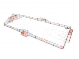 PLAY-PARK - ARENA 4 (25x12m)