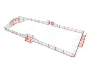 PLAY-PARK - ARENA 4a (25x12m)