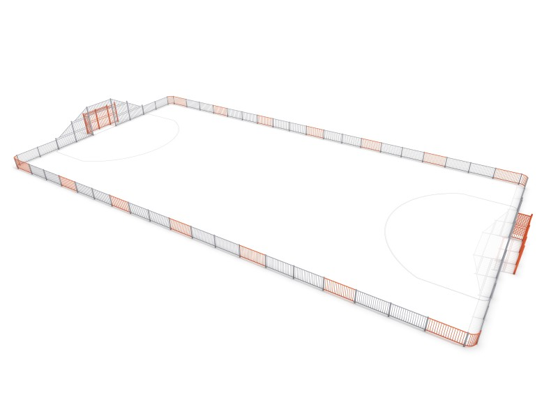 Plac zabaw ARENA 6 (39x20m) PLAY-PARK