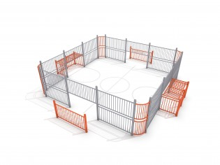PLAY-PARK - SOCCER RING 1 (7x7m)