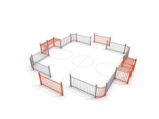 PLAY-PARK - SOCCER RING 2 (7x7m)