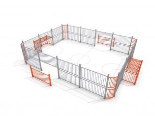 PLAY-PARK - SOCCER RING 3 (9x7m)