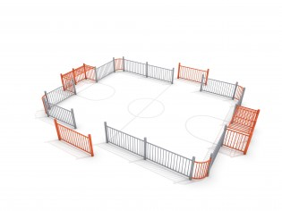 PLAY-PARK - SOCCER RING 4 (9x7m)