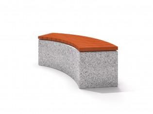 Ławka betonowa 3
