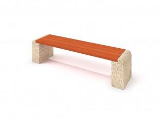 Ławka betonowa 6