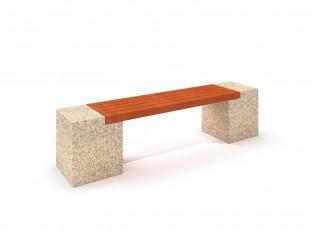 Ławka betonowa 8