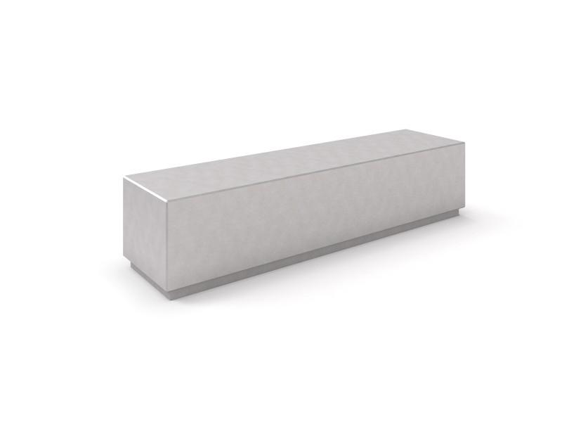 Ławka betonowa 9 Place zabaw