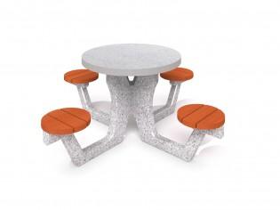 PLAY-PARK - Betonowy stół piknikowy 03