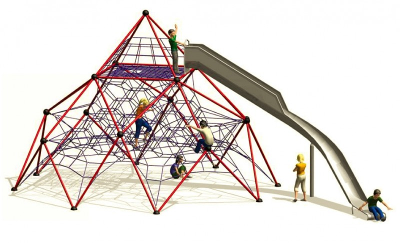 KATEGORIA Plac zabaw zjeżdżalnia Linarium Mont Blanc 3