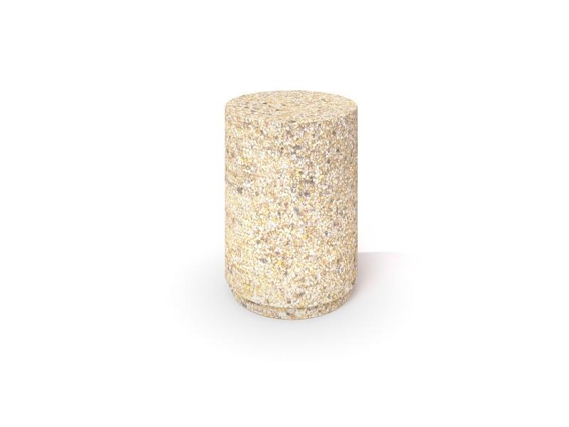 DECO white concrete planter 03 Place zabaw