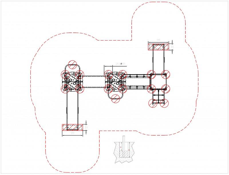 Plac zabaw Zestaw Avelo 3-3 PLAY-PARK