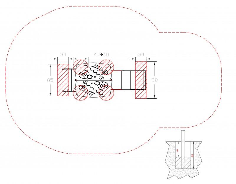 Plac zabaw Zestaw Piro 1-1 PLAY-PARK