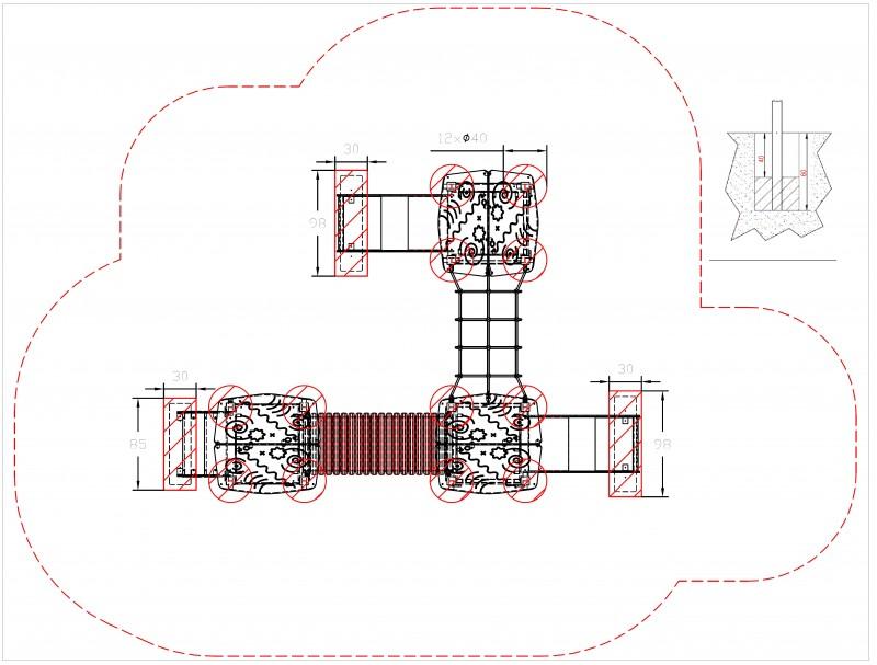 Plac zabaw Piro 3-2 PLAY-PARK