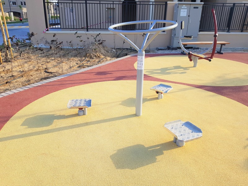 Plac zabaw Potrójny twister PLAY-PARK
