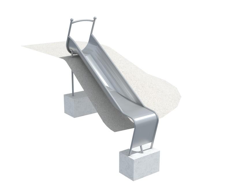 Plac zabaw Zjeżdżalnia skarpowa wąska 6,63 m PLAY-PARK