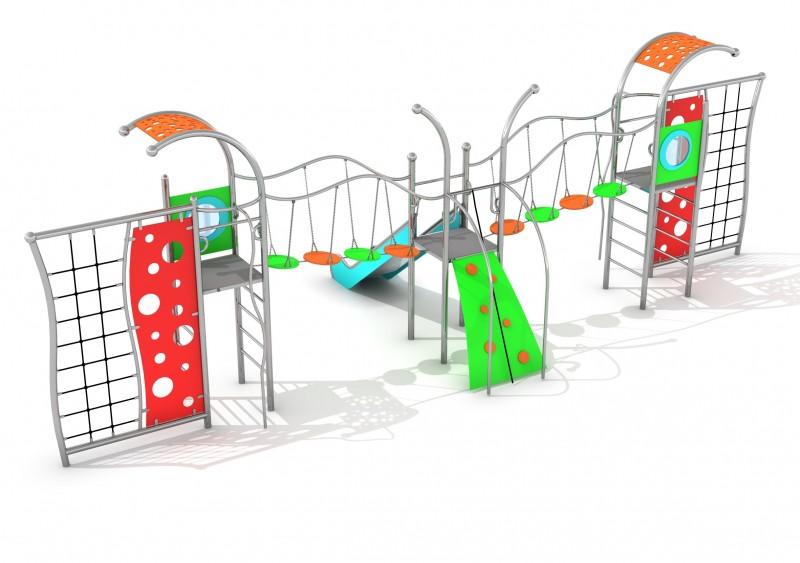 Plac zabaw Zestaw Domo 3-2 Play Park