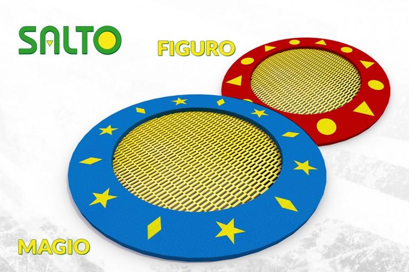 Plac zabaw Trampolina prostokątna Orta 125 x 225 PLAY-PARK