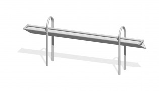 PLAY-PARK - Rynna z odpływem bocznym  2,4 m