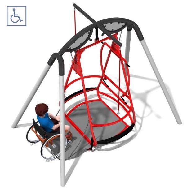 Nietypowy Okaz Huśtawka Saturn urządzenia, zabawki na plac zabaw | PLAY PARK UA47
