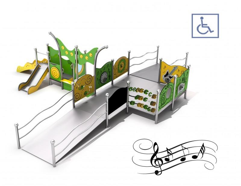 Place zabaw z atestem Zestaw integracyjny Kajo 3