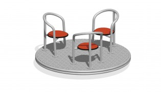 PLAY-PARK - Karuzela Krzesła