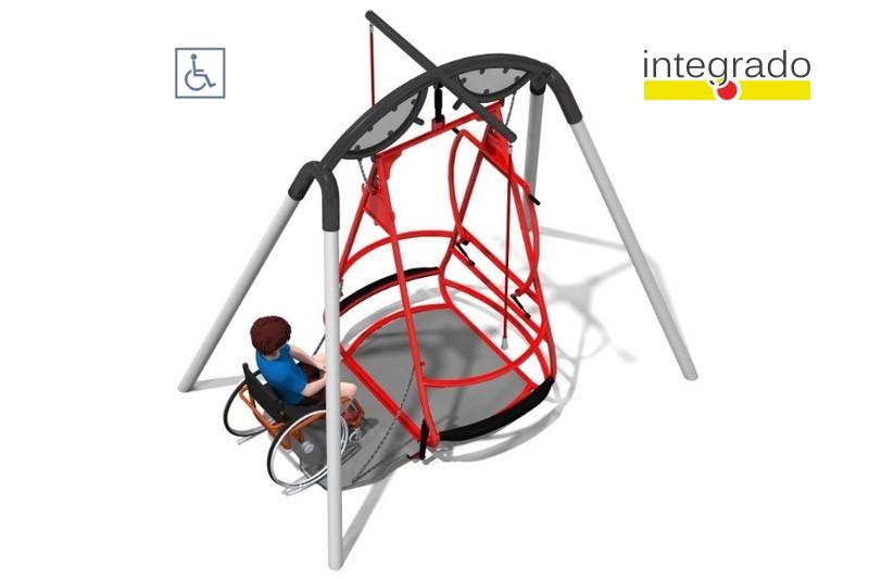 Play-Park Serie na place zabaw integrado-dla-niepelnosprawnych