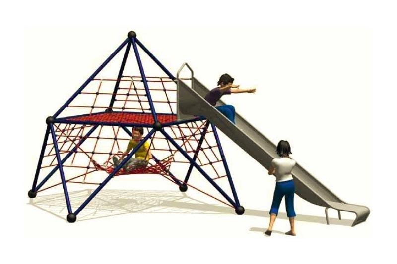 Play-Park Serie na place zabaw plac-zabaw-zjezdzalnia