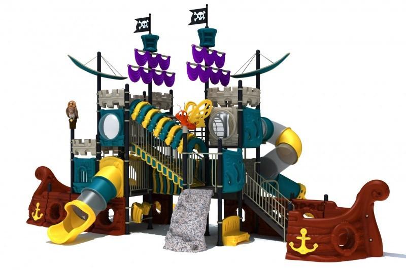 Play-Park Serie na place zabaw statek-na-plac-zabaw