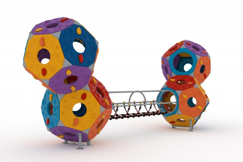 Play Park - Zabawki wspinaczkowe Zestaw Kula 12