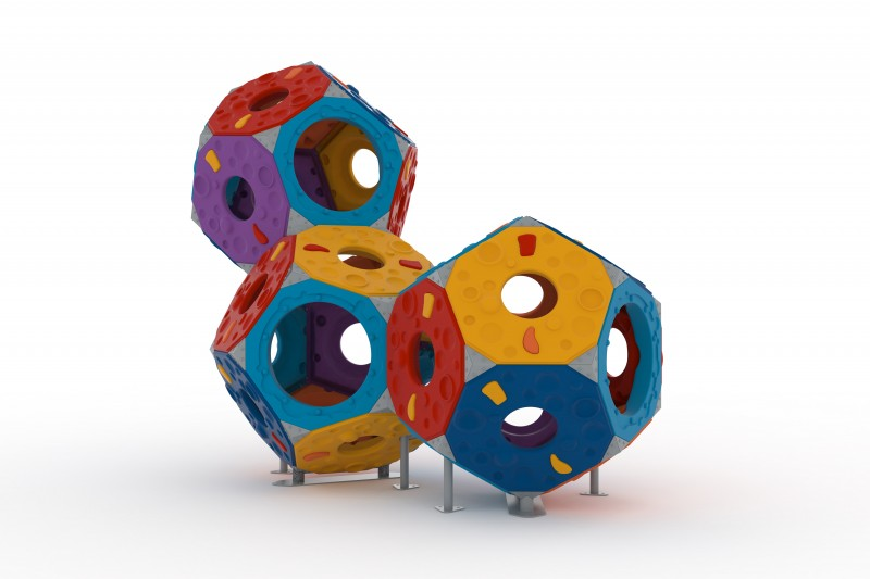 Domki plastikowe dla dzieci Zestaw Kula 3