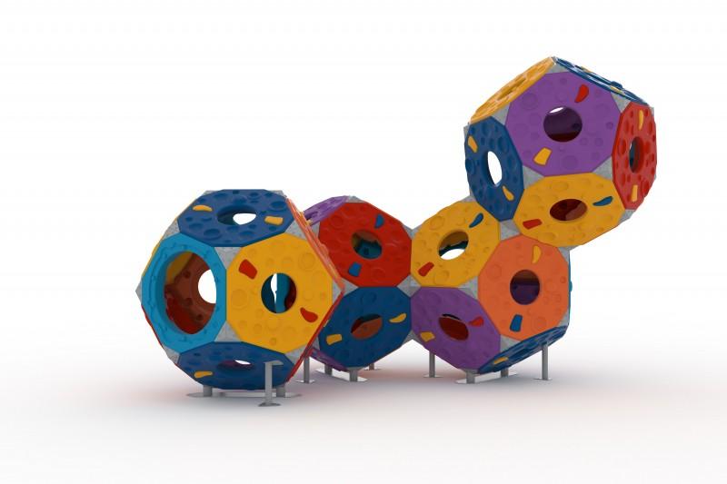 Domki plastikowe dla dzieci Zestaw Kula 4