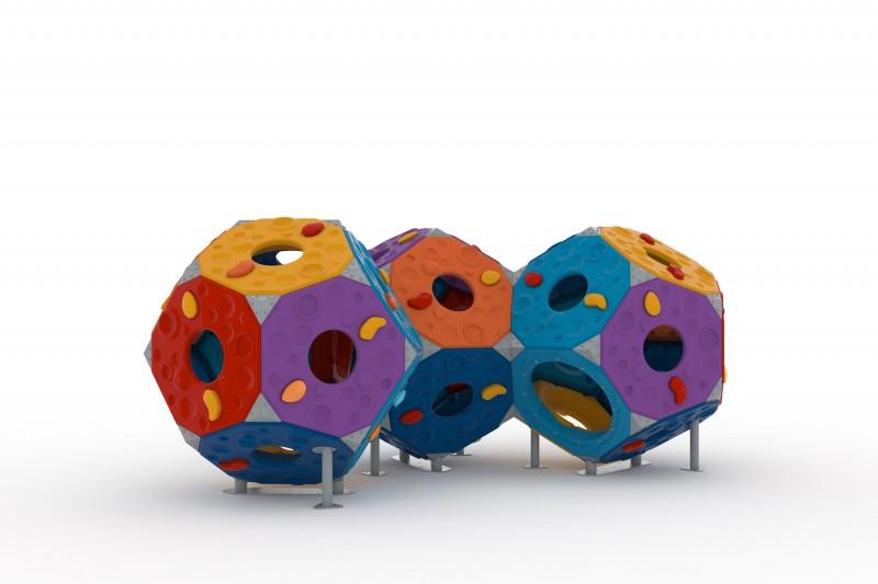 Play Park - Zabawki wspinaczkowe Zestaw Kula 6