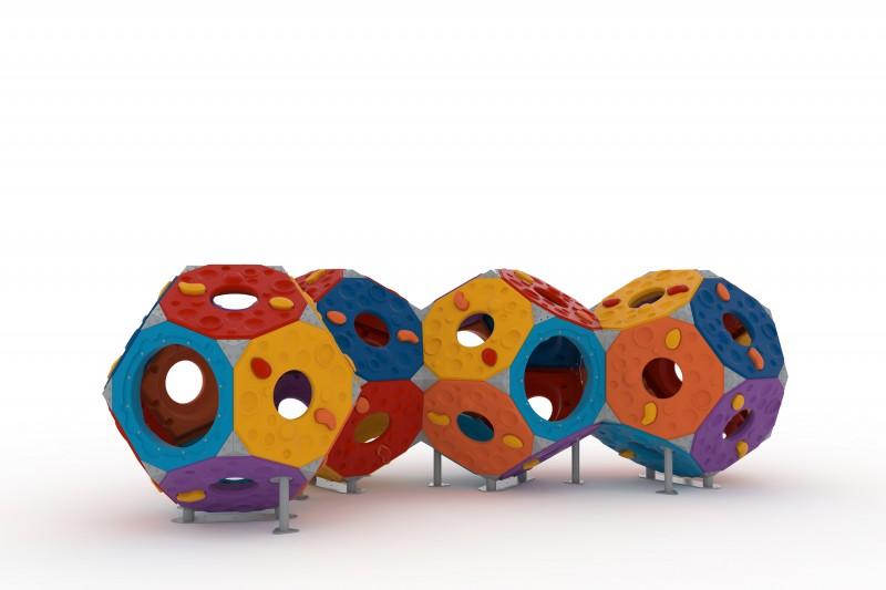 Domki plastikowe dla dzieci Zestaw Kula 7