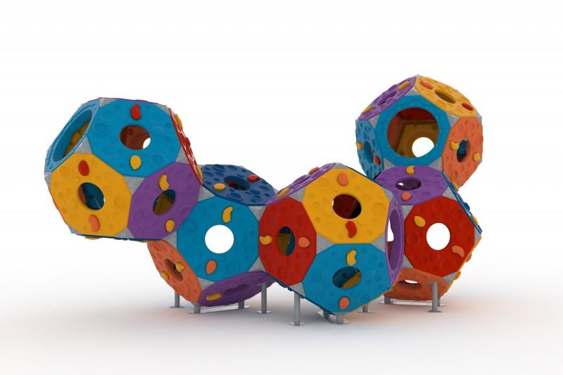 Play Park - Zabawki wspinaczkowe Zestaw Kula 9