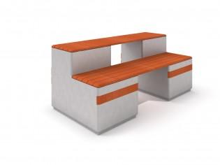Ławka betonowa DECO 12