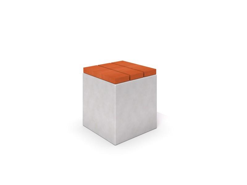 Ławka betonowa DECO 5 Place zabaw