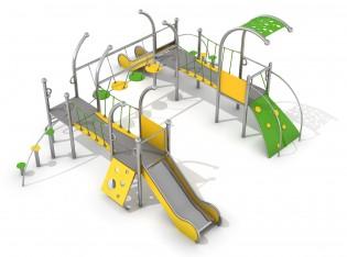 PLAY-PARK - Zestaw Dometo 4-1