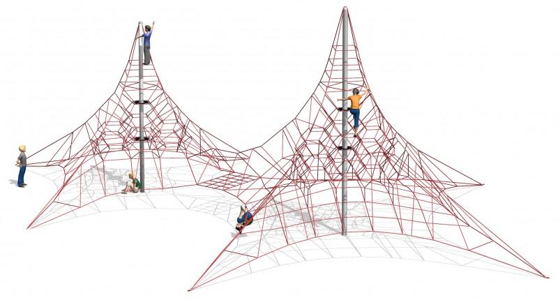 Play Park - Zabawki wspinaczkowe Aleuten