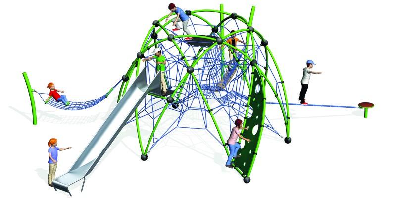 urządzenie wspinaczkowe na plac zabaw Sirius 5