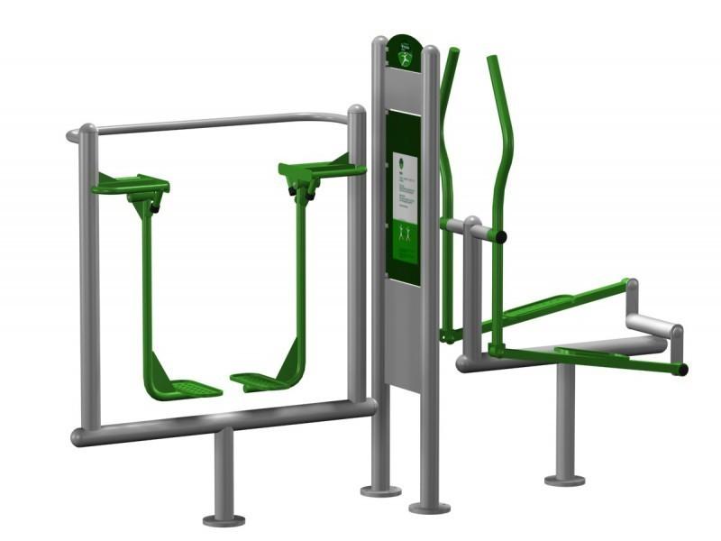 Play-Park Serie na place zabaw siłownie-zewnetrzne-pylon