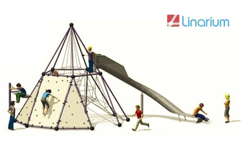 Play-Park Serie na place zabaw skyclimber-wspinaczka