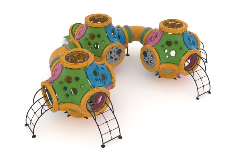 Zabawki na place zabaw  seria TUNEL