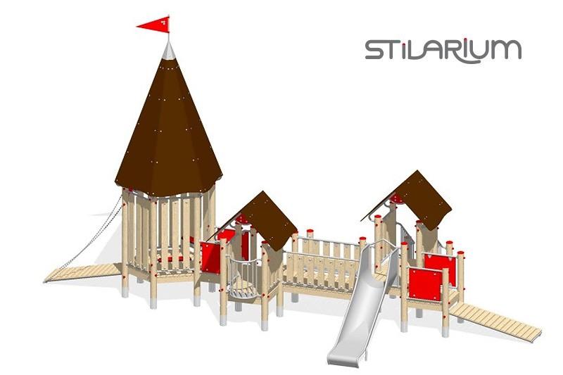 Play-Park Serie na place zabaw zamki-wyposazenie-na-plac-zabaw