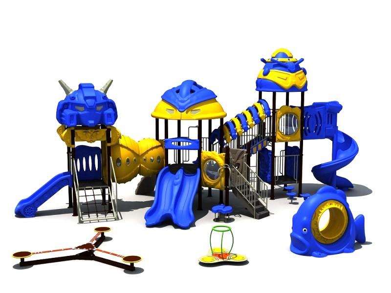 Zabawki na place zabaw  zestawy ROBOT
